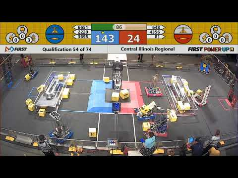 Watch Now! Foximus Qualifies in FIRST Competition