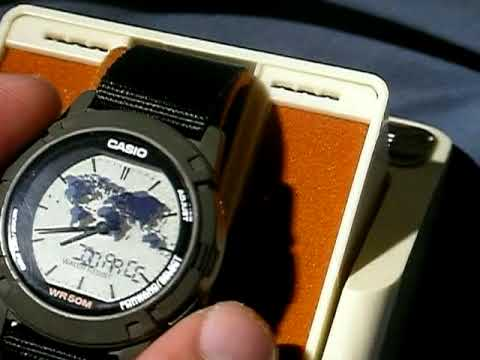 0fff04f79c42 Casio Twincept Analog-Digital Watch (1349 module) Demonstration - YouTube