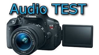 Canon T5i takstar microphone review test