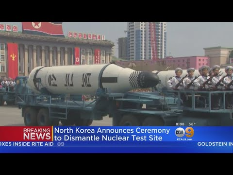 North Korea Holding 'Ceremony' To Dismantle Nuclear Test Site