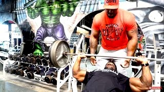 STUPID SWOLE: Working On Your Chest And Shoulders With Big Rob