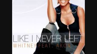 Whitney Houston Like I Never Left (Feat Akon)