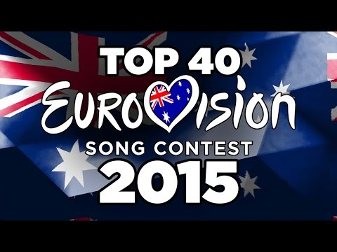 EUROVISION 2015- TOP 40 FROM AUSTRALIA