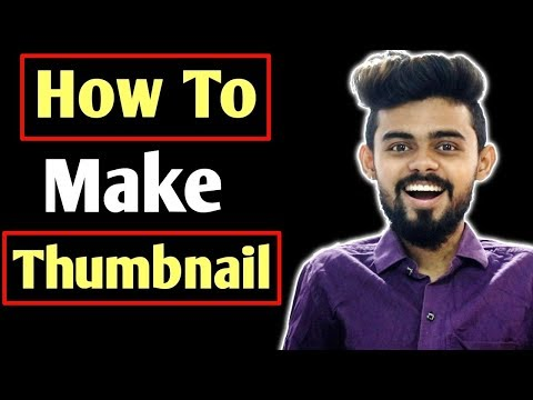 How to make attractive thumbnail for YouTube videos | Best Thumbnail maker app for YouTube