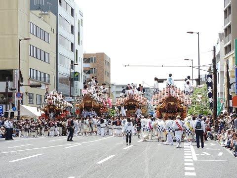 神戸市東灘区 本山だんじりパレード 2017年5月4日(木)
