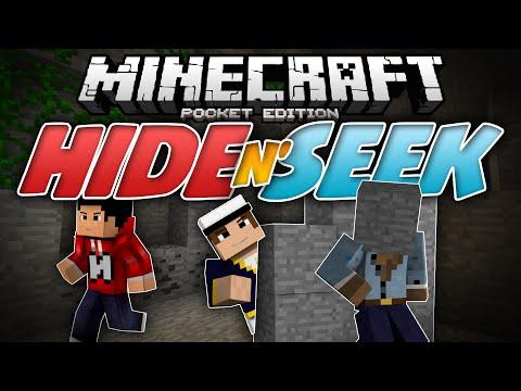 RUN FOR YOUR LIFE!!! - Hide N Seek (Block Hunt) MCPE  - Minecraft PE (Pocket Edition)