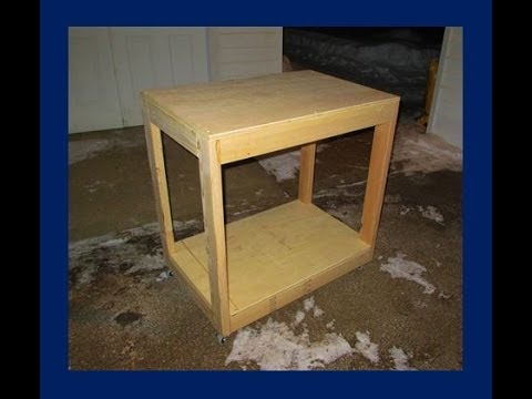 Easy Build A Cheap And Simple Portable Workbench Youtube