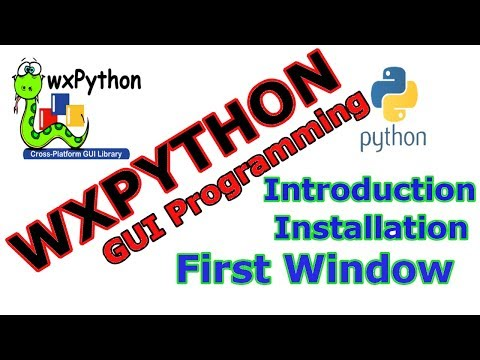 Introduction To Python GUI With wxPython - Code Loop