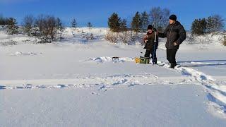 зимняя рыбалка на мормышки на новом месте