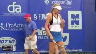 Anisimova Amanda v Bektas Emina - 2017 ITF Lexington