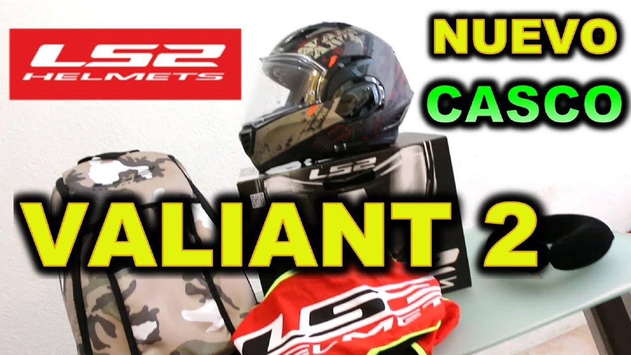 NUEVO CASCO LS2 VALIANT 2 REVIEW - BLITZ RIDER