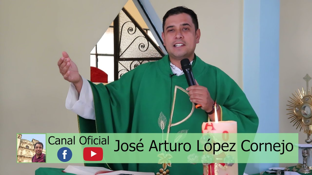 Download EVANGELIO DE HOY sábado 24 de julio del 2021 - Padre Arturo Cornejo