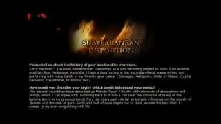 Subterranean Disposition (Melodic Doom Death Metal from Australia)