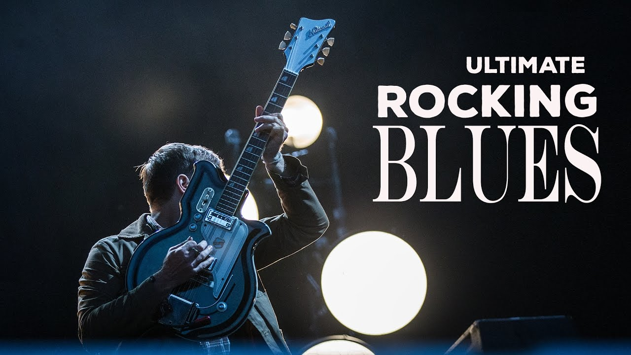 blues rock music graphics