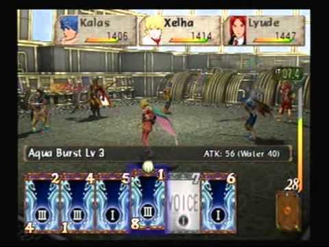 Système de combat-Baten Kaitos