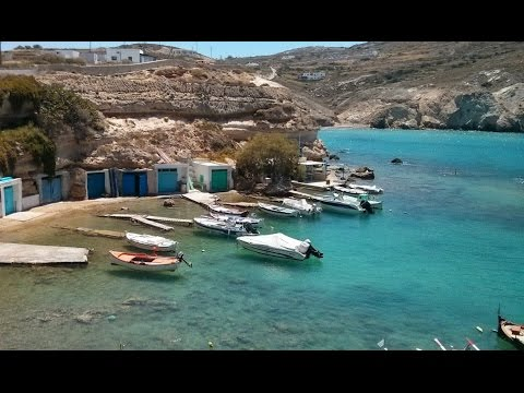 A Tourist's Mini Video Guide For Milos Island