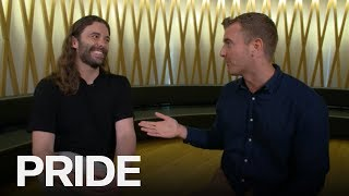 Jonathan Van Ness On Kissing Antoni, Donald Trump & Hometown Episode | ET CANADA PRIDE