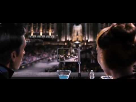 Katniss, girl on fire scene (The Hunger Games)