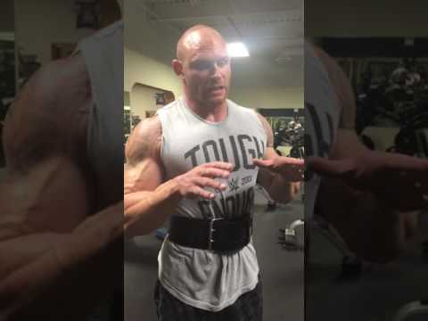 WWE Tough Enough Competitor Alexander Frekey explains his form on incline dumbbell press.