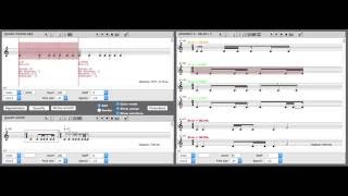 Demo of OpenMusic's RQ library (Rhythm Quantization)