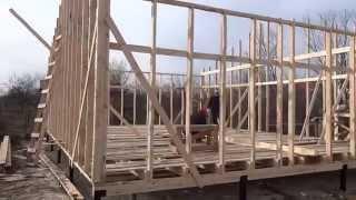 16 день строительства таунхауса(Наша компания строит таунхаусы с отдельными входами и собственнми участками быстро, надежно и недорого...., 2014-11-21T18:17:48.000Z)
