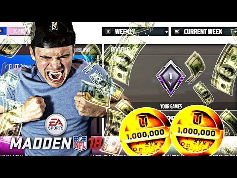 NUMBER 1 IN THE WORLD IN WEEKEND LEAGUE! | Madden 18 Ultimate Team