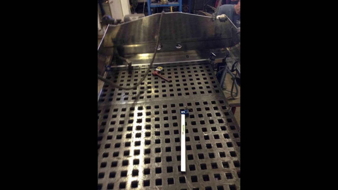 16.5' Cope Boats Jet Boat Build - YouTube