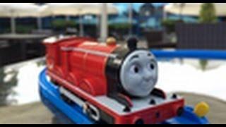 【trem de brinquedo】Thomas e Seus Amigos TS-05 James @ Novotel Gdansk Centrum, Poland 00282 pt