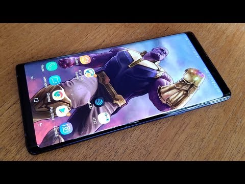 How To Change Wallpaper On Galaxy Note 9 To Thanos Fliptroniks Com