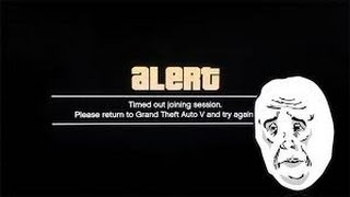 "(NEW)how to fix ""Timed Out Locating Session"" On GTA 5 online"