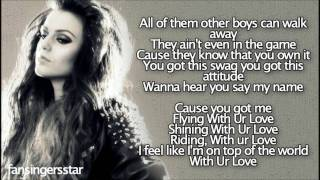 Cher Lloyd - With Your Love [Lyrics]
