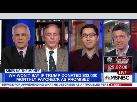 """Kurt Bardella Discusses Donald Trump's Greed Downfall on MSNBC's """"The Point"""" with Ari Melber"""