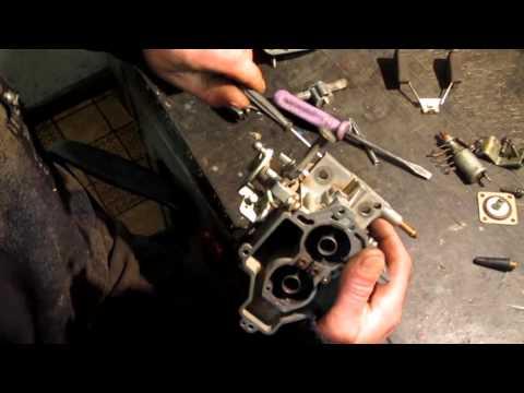 Карбюратор солекс ремонт и регулировка видео