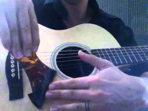 removing pickguard on acoustic guitar youtube. Black Bedroom Furniture Sets. Home Design Ideas