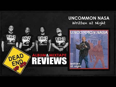 Uncommon Nasa - Written At Night Album Review | DEHH