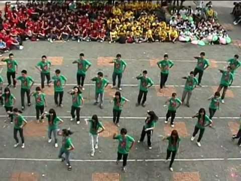 Thể dục đồng diễn_12A6_Hội trại HSSV THPT Gia Định (14,15-1-2012)