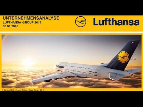 Unternehmensanalyse Lufthansa Group 2014