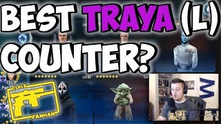 Best Traya Lead Counter Team? | Galaxy of Heroes | SWGOH