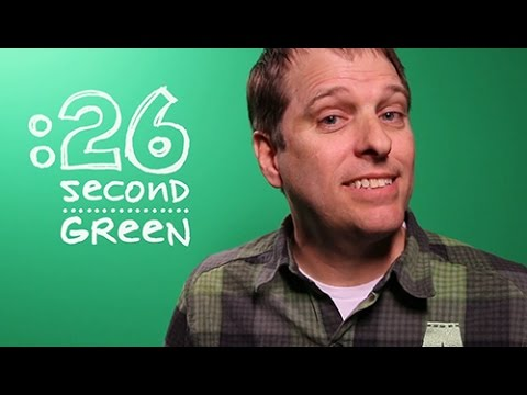 Green Living Tips in 26 Seconds | 26 Second Green
