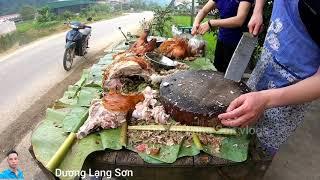 cán Bộ ngân hàng ngày thứ 6 đi bán Hęo , lợn qขay cùng cô vợ xİnh đẹp hạ bút cầm dao