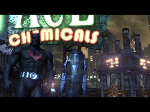 Batman: Arkham City (Batman Beyond Walkthrough) - Part 1 - Arkham City [1080p60fps]