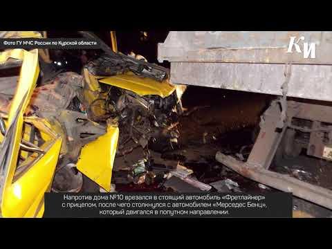 В Курске две пассажирки «Газели» погибли в автокатастрофе на Магистральном проезде