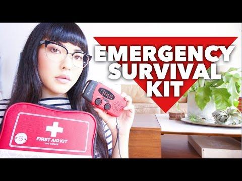 DIY Emergency Survival Kit | Disaster Preparedness | soothingsista