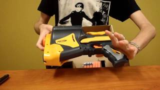 New Nerf Speedload 6 Review and Demo (Dart Tag 2011)