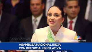 SE ESPERA DEBATE A LA REFORMA LEGISLATIVA PARA ÉSTE MIÉRCOLES