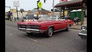 1969 Ford Galaxie XL Convertible in Red & 390 Engine Sound on My Car Story with Lou Costabile