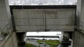 上越新幹線(越後湯沢~ガーラ湯沢)車窓