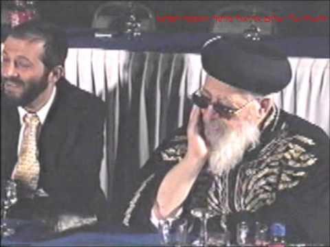 אל חובי סלח ר' משה חבושה עם מרן רבנו עובדיה יוסף שליט''א.
