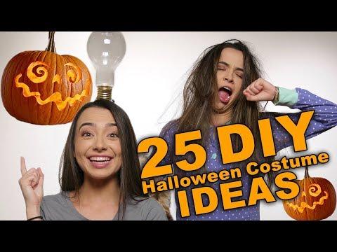 25 DIY Halloween Costume Ideas - Merrell Twins