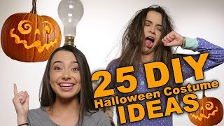25 DIY Halloween Costume Ideas - Merrell Twins halloween 2018